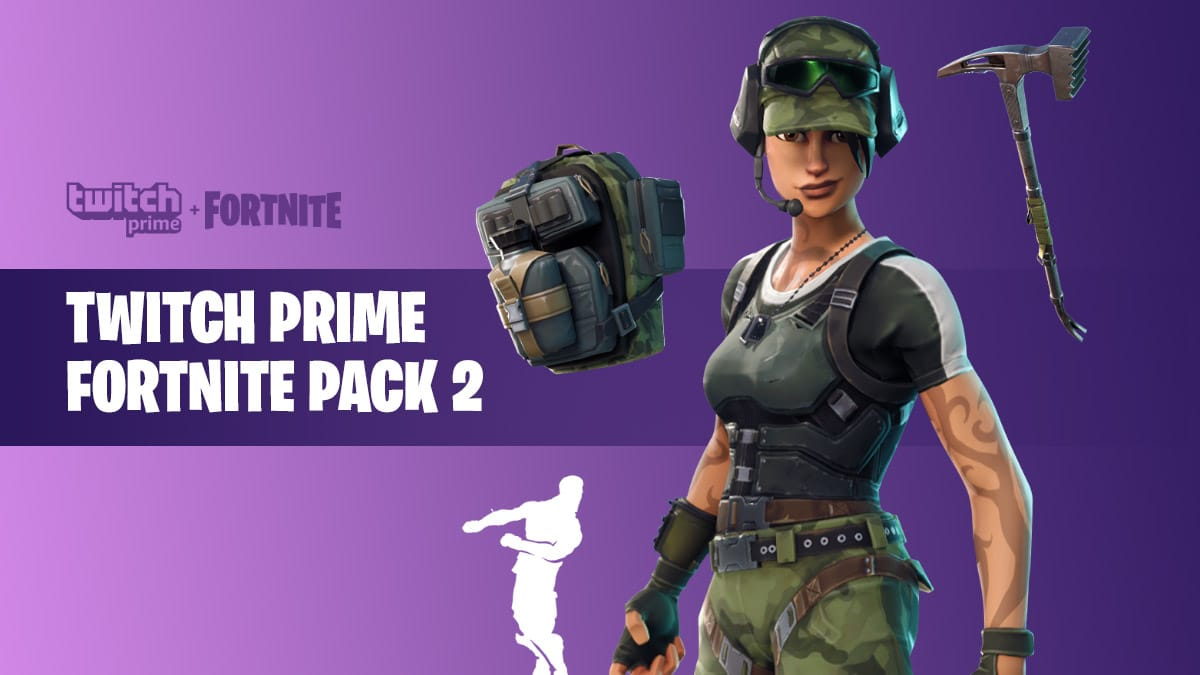 How to Get Twitch Prime Fortnite Pack #2 Free